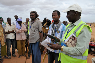 Community Peace and Safety Teams help keep the peace.