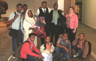 Grace Calgary sponsored a refugee family from Eritrea, arriving in Canada May, 2014.