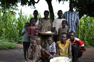 Conflict and hunger in South Sudan forced one million people from their homes. PWS&D responded to the crisis and severe hunger by providing food vouchers to families affected.