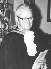 The Rev. Dr. Hugh MacMillan