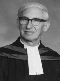 The Rev. Dr. Agnew H. Johnston
