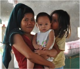 July 20 - Families in the Philippines have hope to live again