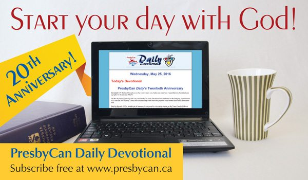 2016 Daily Devotional anniversary