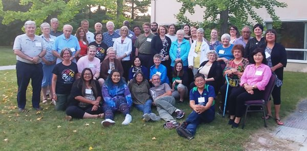 Participants at the National Healing and Reconciliation Gathering.