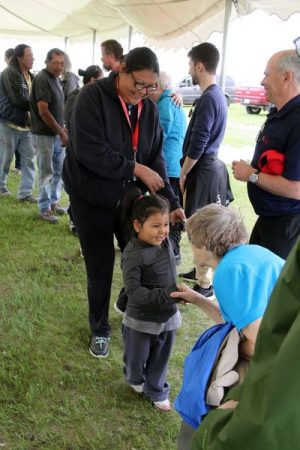 Brandon Sun article of tour to Birdtail Sioux First Nation