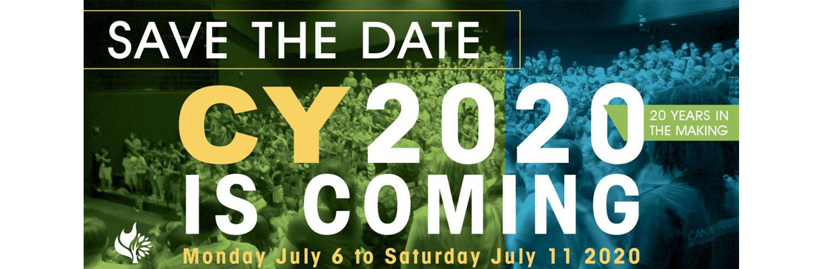 CY2020 Save the date