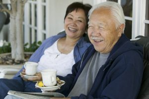 Charitable Bequests, Senior couple