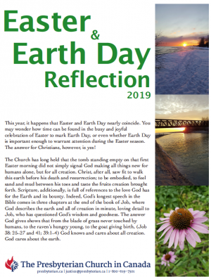 Cover image of Easter and Earth Day Resource