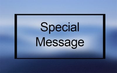 Special Message