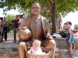 James Naismith statue in Almonte