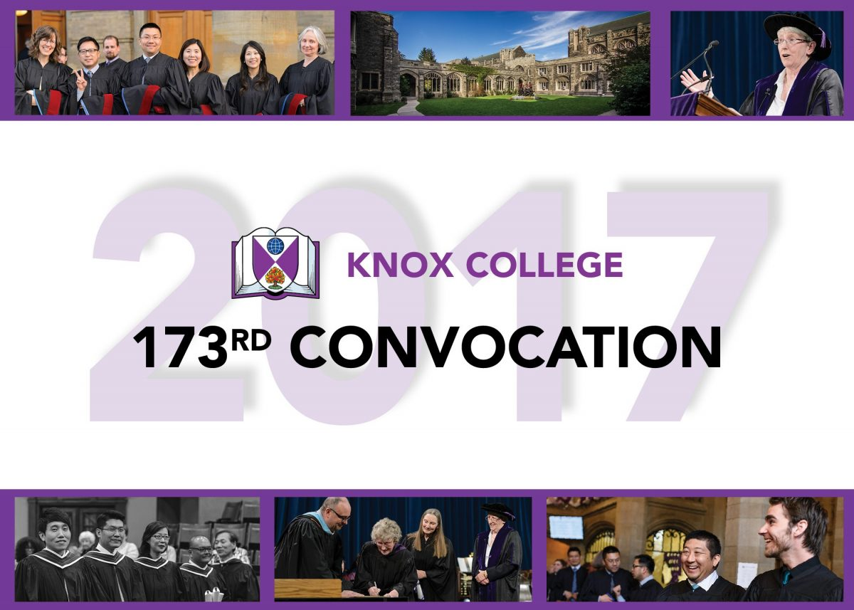 Knox convocation 2017