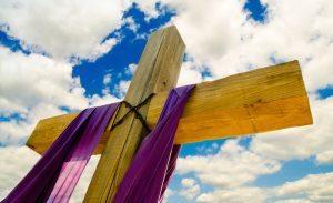 Lent cross image