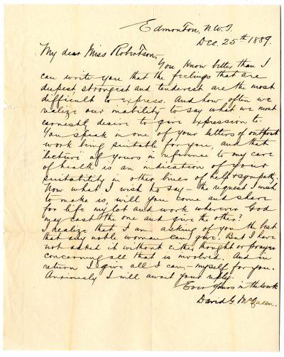 McQueen Letter 1