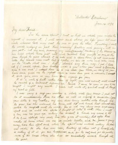 McQueen Letter 2 - pg 1
