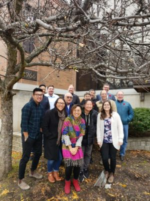 Ministry leaders and evangelism coaches at the 2019 fall gathering of the Evangelism Network