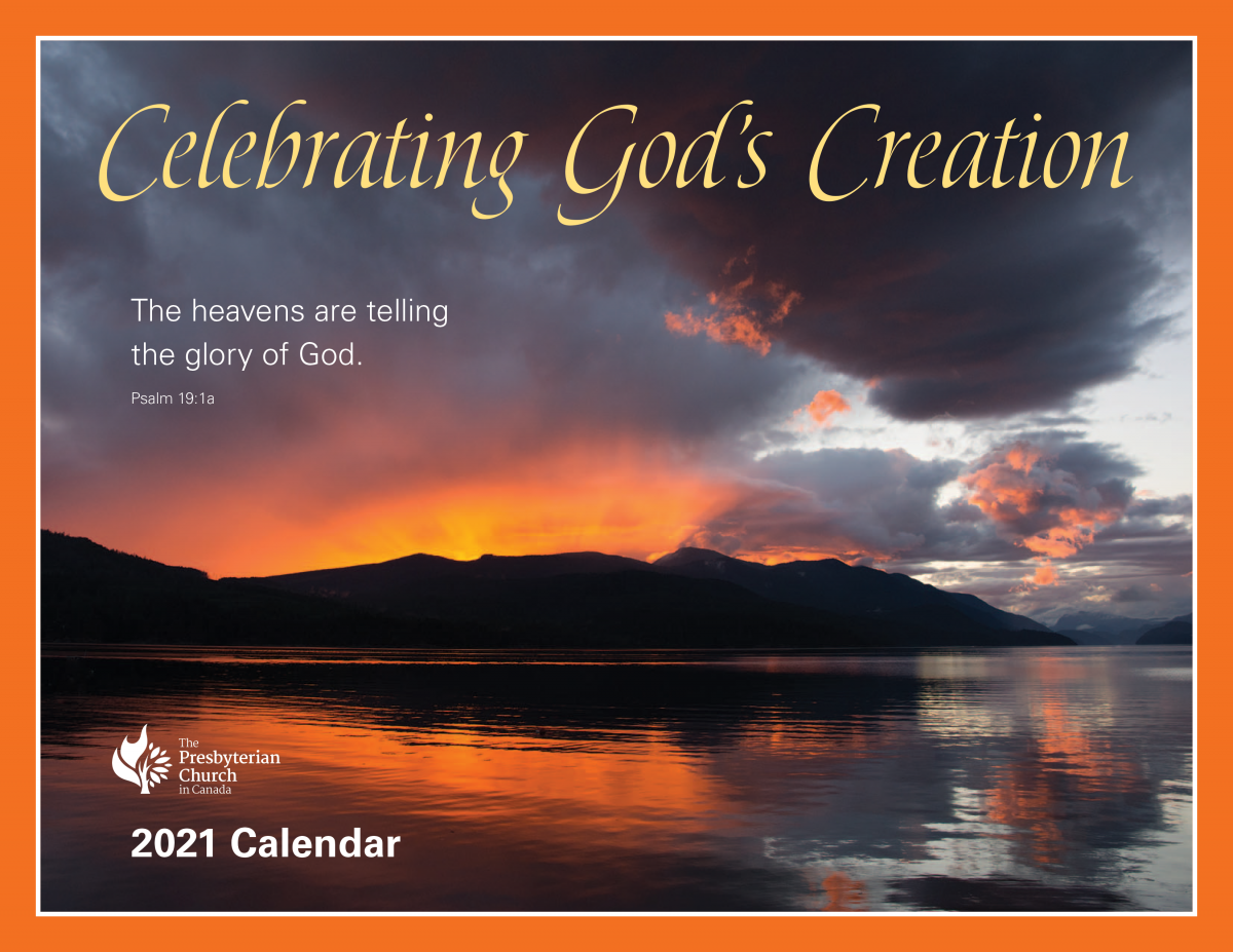 PCC Wall Calendar | The Presbyterian Church in Canada