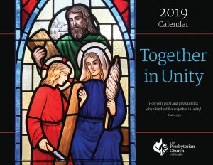 2019 Wall Calendar Cover