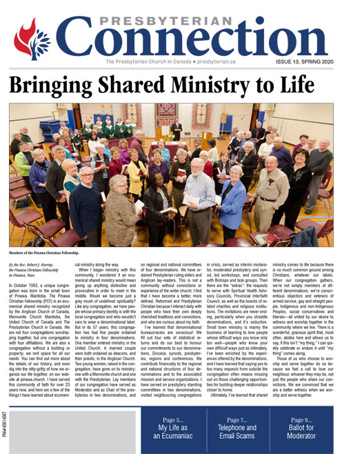 Click here to view an electronic copy of the Presbyterian Connection