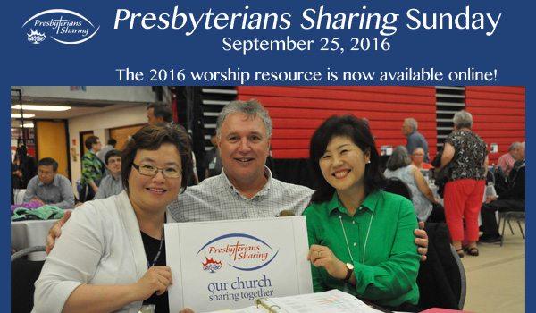 Presbyterians Sunday Sunday 2016