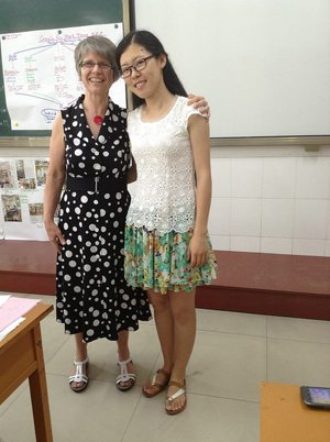 May 3 - Partnering with Chinese educators