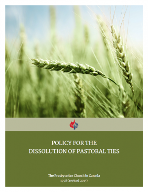 Policy for the Dissolution of Pastoral Ties
