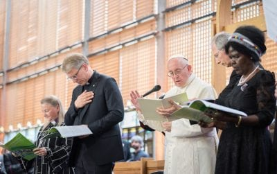 Pope Francis and WCC