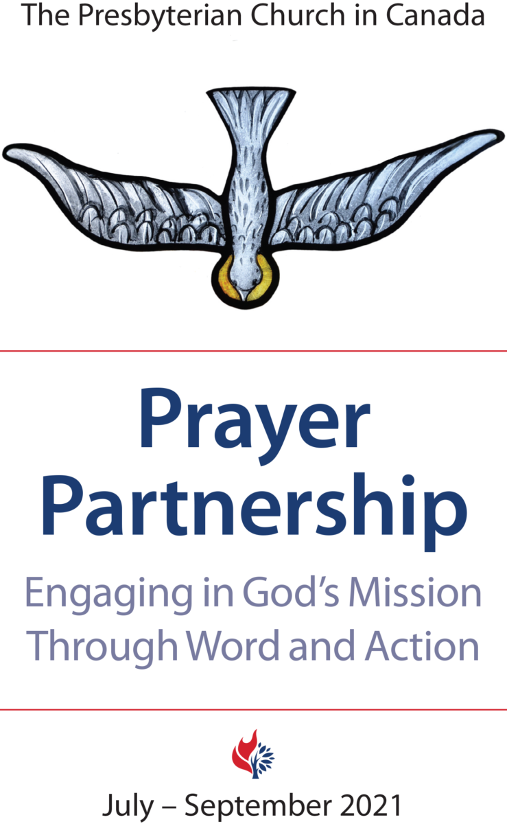 Cover Image for the July – September 2021 issue of the PCC's Prayer Partnership resource.