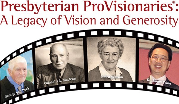 ProVisionaries Stories of Giving