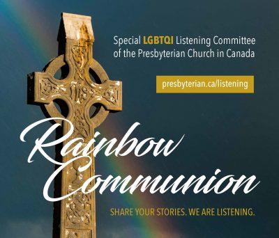 Rainbow Communion Banner