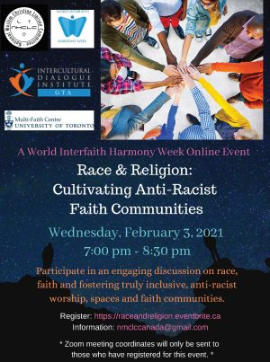 World Interfaith Harmony Week Event