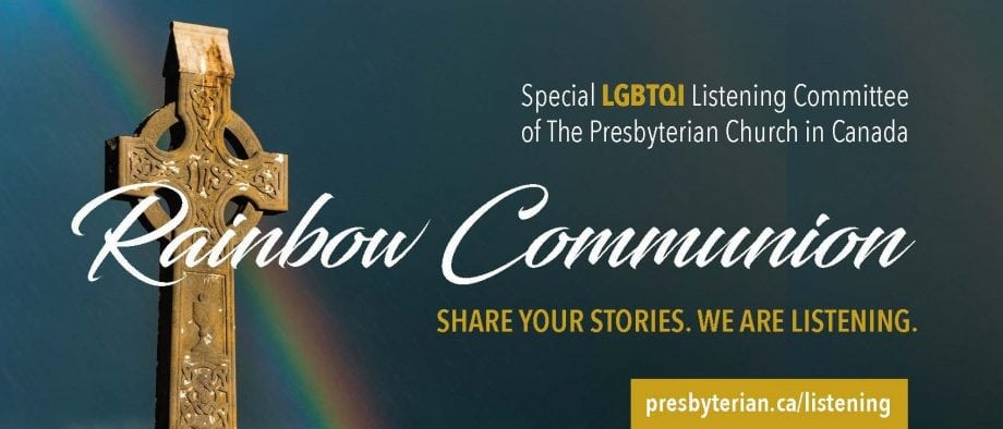 Rainbow Communion Banner Image
