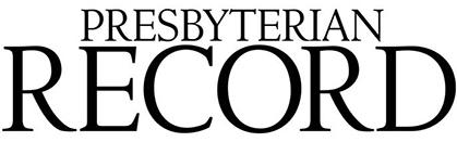 Presbyterian Record logo, black