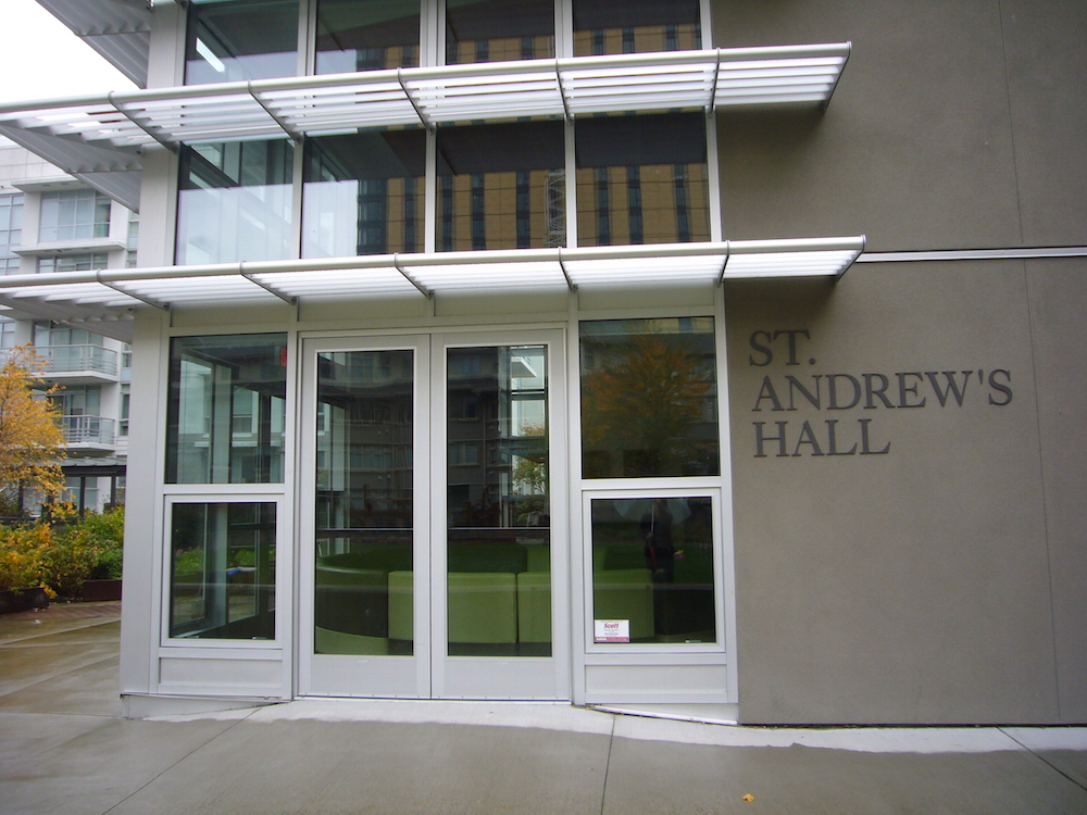 St. Andrew's Hall, VST