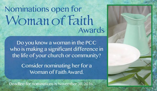 WOFA 2016, Women of Faith Awards