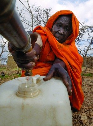 Well in Darfur, Sudan